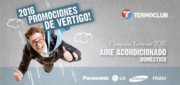 2016 PROMOCIONES DE VERTIGO! AIRE ACONDICIONADO DOMESTICO CAMPAÑA INVIERNO 2016