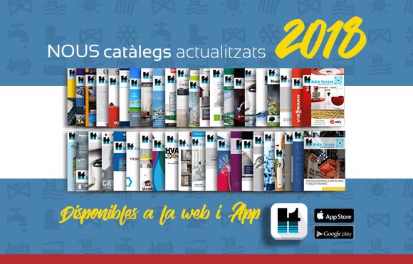 Nuevos catálogos 2018
