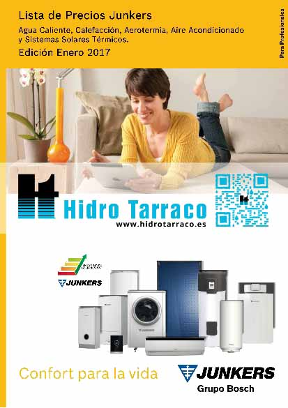 Uponor Tarifa 2017 Hidro Tarraco