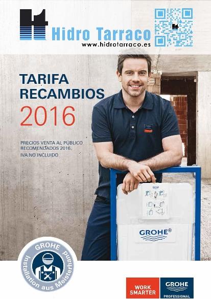 Negarra tarifa 2016 hidro tarraco for Tarifa grohe