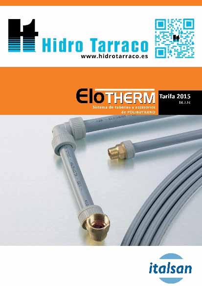 Gebo tarifa 2017 hidro tarraco for Tarifa grohe