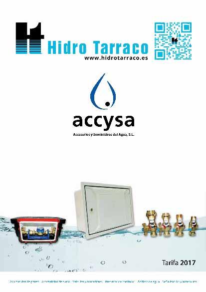 Accysa tarifa 2017 hidro tarraco for Tarifa grohe 2017