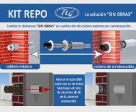 Descubra con Hidro Tarraco, el nuevo sistema para la sustitución de calderas estancas de condensación FIG.